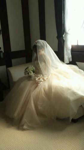 ジルスチュアートのドレスで挙式