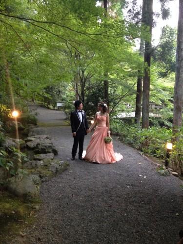 カラードレスの前撮り