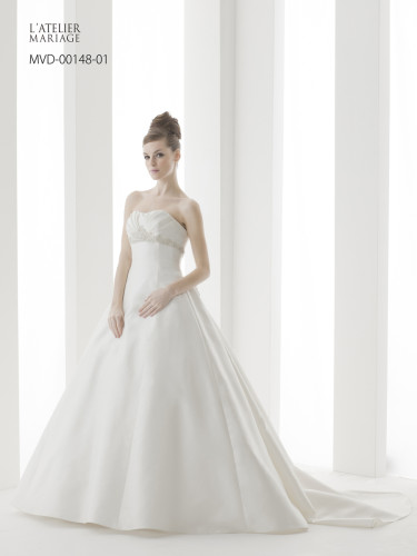 Aラインのドレス