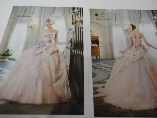 26856b92503bd スタッフオススメのカラードレス 2012 7 8|ウェディングドレスレンタル ...