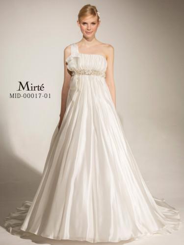 Mirteミルテのウェディングドレス