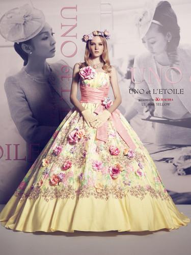 ウノエレトワールの新作カラードレス