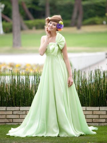 アレッサのカラードレス