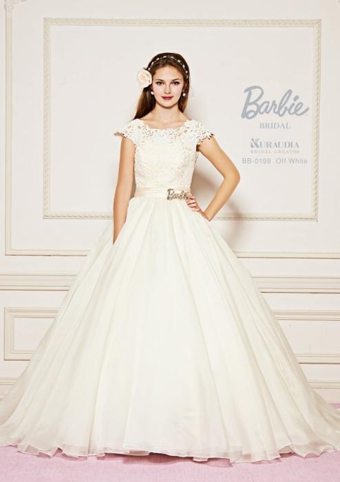 バービーブライダルのウェディングドレス