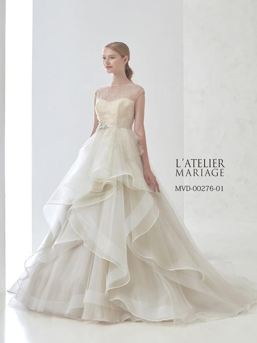 ラトリエマリアージュのウェディングドレス