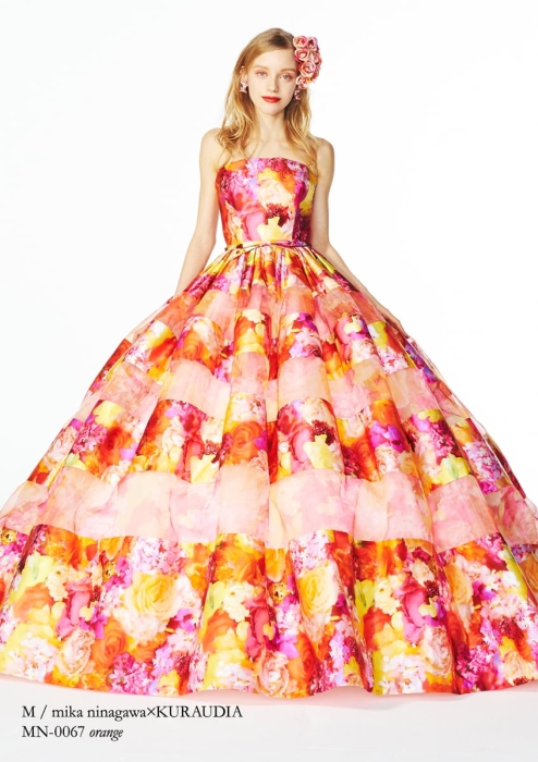 エム/ミカニナガワのウェディングドレス