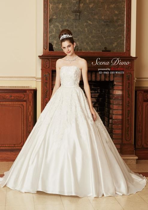 シェーナドゥーノのウェディングドレス